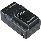 DigiPower KBP-GPHR301 Charger and Battery for GoPro HERO 3 - 1 Hour Charging - 120 V AC, 230 V AC Input - 4.2 V DC Output - AC Plug