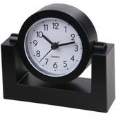 TIMEKEEPER TK6851 4 Swivel Black Desktop Clock