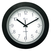 EQUITY BY LA CROSSE 40222B 10Black Insta-Set Wall Clock