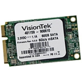 Visiontek 60 GB Internal Solid State Drive - mini-SATA - 540 MBps Maximum Read Transfer Rate - 425 MBps Maximum Write Transfer Rate - Plug-in Module