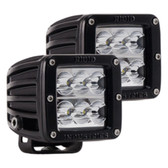 Rigid Industries D-Series D2 - Wide - Pair - Black