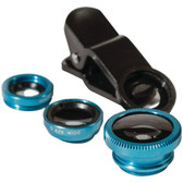 Poser Snap 98530 Mobile 3-in-1 Clip Photo Lens Set