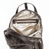 ONE SIZE Versace 19.69 Abbigliamento Sportivo Srl Milano Italia Mens Backpack V1969016 COFFEE COFFEE