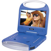 Sylvania SDVD1052-BLUE 10 Portable DVD Player with Integrated Handle (Blue)