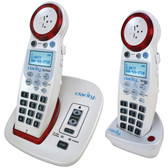 CLARITY 59465.001 DECT 6.0 Extra-Loud Big-Button Speakerphone with Talking Caller ID & Extra Handset