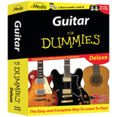 EMEDIA MUSIC FD09103 Guitar for Dummies Deluxe 2-CD-ROM Set
