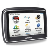 TomTom Go 740 Live 4.3 Touchscreen Portable GPS System w/USA & Canada Maps & Traffic Message Channel
