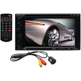BOSS AUDIO BVB9376RC 6.5 Double-DIN In-Dash DVD/MP3/CD & AM/FM Receiver with Bluetooth(R) & Rear Camera