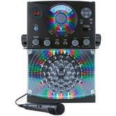 THE SINGING MACHINE SML385BTBK Bluetooth(R) CD+G Karaoke System (Black)