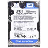 Western Digital Scorpio Blue 320GB SATA/300 5400RPM 8MB 2.5 Hard Drive