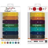 MyKronoz 813761020954 ZeFit2 Pulse Colorama Bracelets, 7 pk