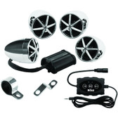 BOSS AUDIO MC650B 1,200-Watt Motorcycle/ATV 4-Speaker Sound System with Bluetooth(R)