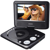 Sylvania SDVD7073 7 Swivel-Screen Portable DVD Player