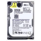 Western Digital AV-25 320GB SATA/300 5400RPM 16MB 2.5 Hard Drive - WD3200BUCT-NDW-R