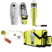 ACR EPIRB Safety Kit #1 - w/GlobalFix V4 Cat I, RapidDitch Bag, C-Strobe,  HotShot Mirror  Whistle