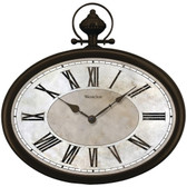 WESTCLOX 32926 16 Oval Pocket Watch Wall Clock