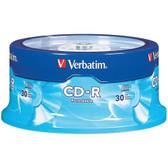 VERBATIM 95152 700MB CD-Rs, 30-ct Spindle
