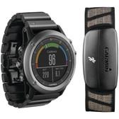 GARMIN 010-01338-20 fenix(R) 3 Performance Watch (Sapphire)