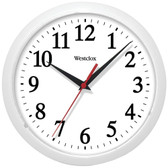 WESTCLOX 461761 10 Basic Wall Clock (White)