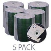 (5-Pack) Spin-X 52x 700MB 80-Minute CD-R Media 100-Piece (5 Packs x 100 Discs Each = 500 Total Discs!)