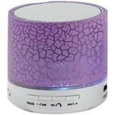 Sylvania SP637-PURPLE Bluetooth(R) Lighted Portable Speaker (Purple)