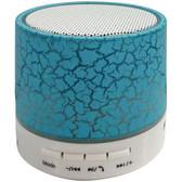 Sylvania SP637-BLUE Bluetooth(R) Lighted Portable Speaker (Blue)