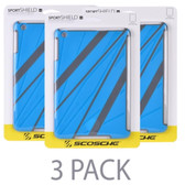 (3-Pack) Scosche sportSHIELD m1 Protective Sport Cover for iPad mini (Blue/Gray)