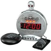 Sonic Alert SBS550bc The Skull(TM) Alarm Clock with Bone Crusher(TM)