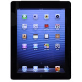 Apple iPad with Wi-Fi + Cellular 64GB - Black - AT&T (3rd generation) - B