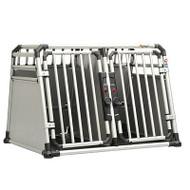 Proline  Crash Tested DOUBLE Dog Crate  with Aluminum Frame - Cerberus Medium / Large