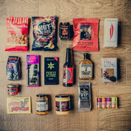 With over 400 known varieties, chilli is quickly becoming a fiery favourite in the UK. Relish the rich and burning impact this little spice has by sampling some of our most daring treats in this deluxe hamper. It's on fire!