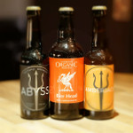 Neptune Brewery's Abyss and Amberjack and Liverpool Organics Bier Head