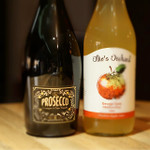 Fiabesco Prosecco and Ollie's Orchard Apple Juice