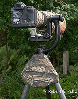 Shoulder Saver Tripod Pad - Camo