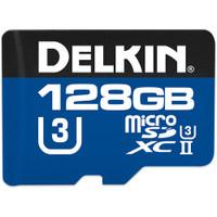 Delkin 128GB 1900X UHS-II microSDXC Memory Card