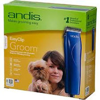 Andis - Easy Clip Groom 12 Piece Clipper Kit, 110 volt, U.S. plug