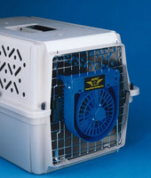 Metro - Air Force Cage/Crate Cooling Fan, Battery Powered, Up to 100 hours of cooling relief