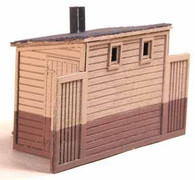 HO-Scale NP Double Privy