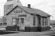 HO-Scale East Helena Depot/Telegraph Office