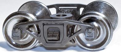 HO Scale - Barber-Bettendorf Swing Motion Caboose Trucks