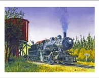 NP 1361 on the North Bend Logger Note Cards