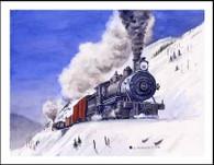 NP 501 on Stampede Switchbacks Winter Card