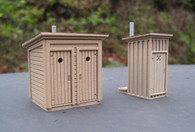 HO One and Two Stall Privies