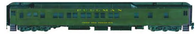 Bethlehem Car Works NP 10-1-1 Pullman Sleeper Pullman Green Paint Scheme