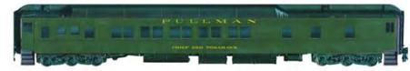 Bethlehem Car Works NP 10-1-1 Pullman Sleeper Pullman Green Paint Scheme