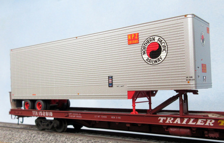 NP Timpte built Trailer from Trainworx