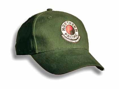 Green Yellowstone Park Line Hat