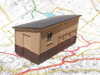 HO-Scale NP Wooden Fuel Shed