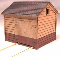 HO-Scale NP Tool Shed-Single Bay