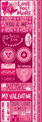 Anything For Love Collection Die Cut Stickers by Reminisce